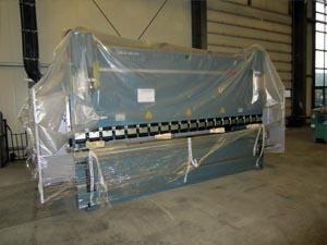 Abkantpresse Biegeleistung 175t max. Material Länge 4100mm
